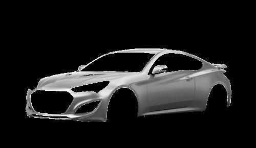 Цвета кузова Genesis Coupe